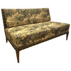 Exceptional Settee in the Robsjohn-Gibbings Style