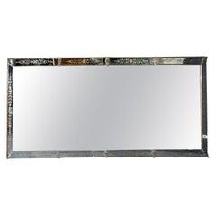 1900' Exceptional Sized  Venice Mirror 371 X 124 cm