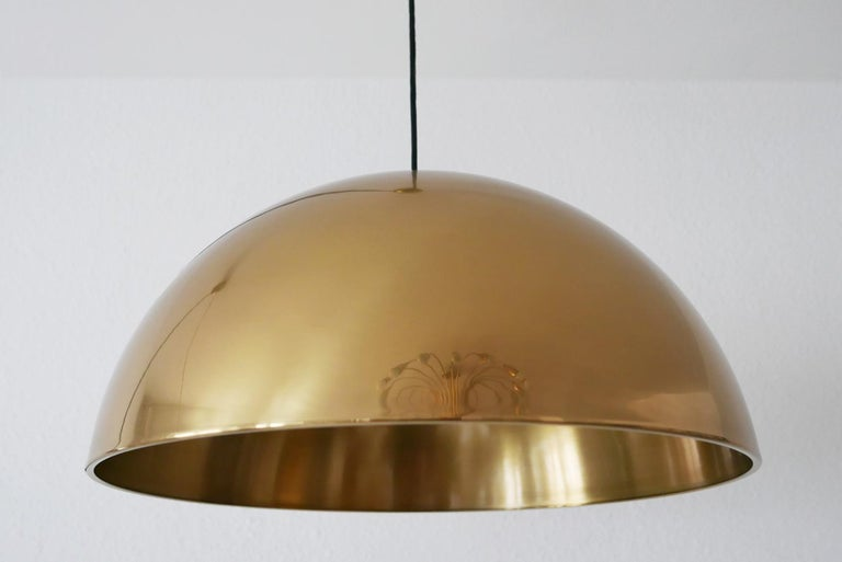 Exceptional Solan Counter Balance Pendant Lamp by Florian Schulz, 1980s, Germany For Sale 5