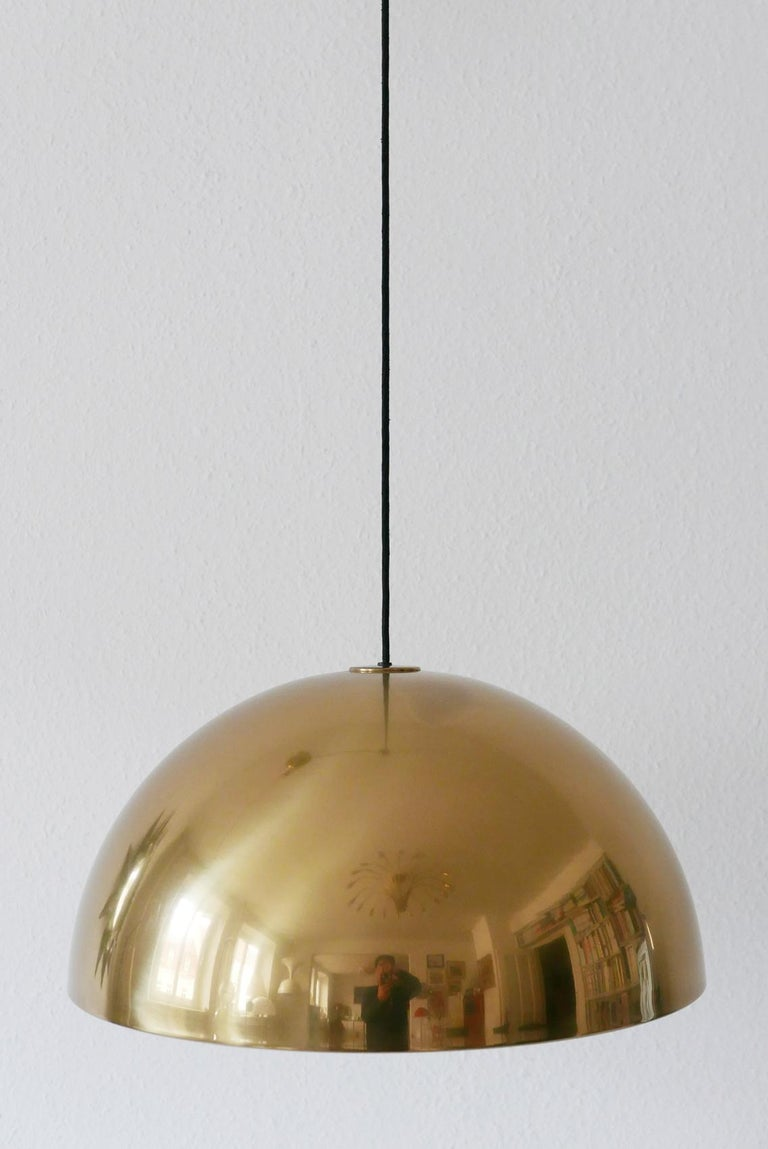 Exceptional Solan Counter Balance Pendant Lamp by Florian Schulz, 1980s, Germany For Sale 8