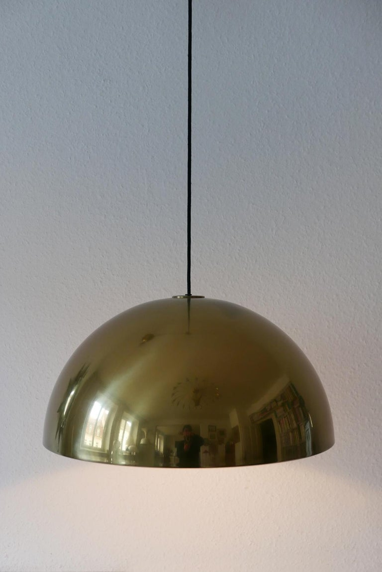 Exceptional Solan Counter Balance Pendant Lamp by Florian Schulz, 1980s, Germany For Sale 9