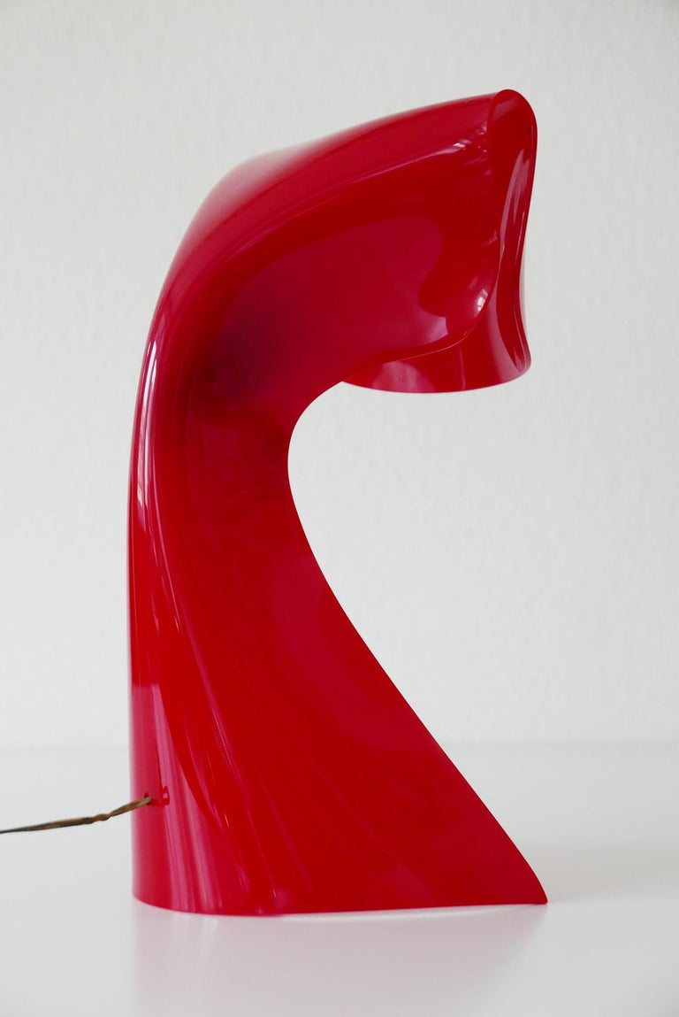 Exceptional Table Lamp by Hanns Hoffmann-Lederer for Heinz Hecht, 1950s, Germany For Sale 5