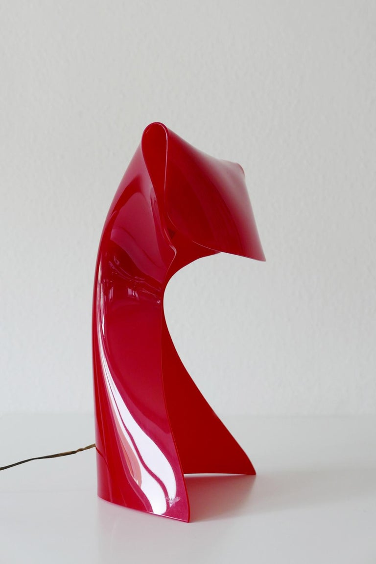 Exceptional Table Lamp by Hanns Hoffmann-Lederer for Heinz Hecht, 1950s, Germany For Sale 7