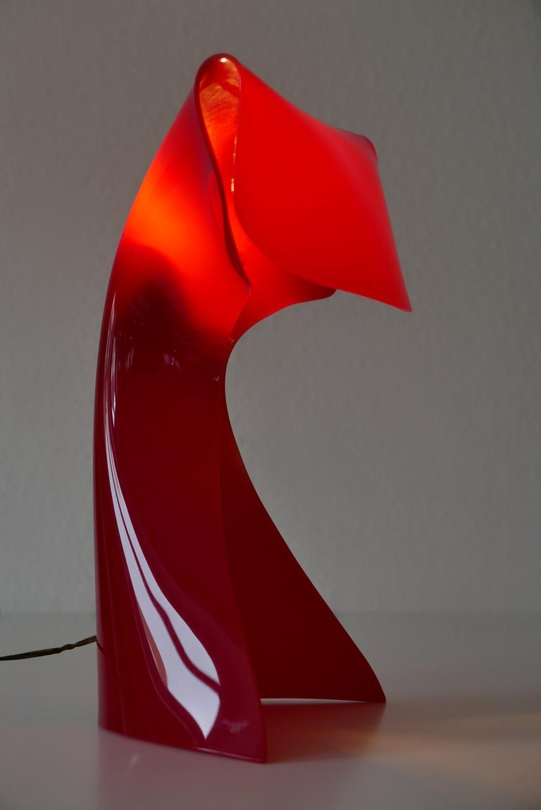 Exceptional Table Lamp by Hanns Hoffmann-Lederer for Heinz Hecht, 1950s, Germany For Sale 8