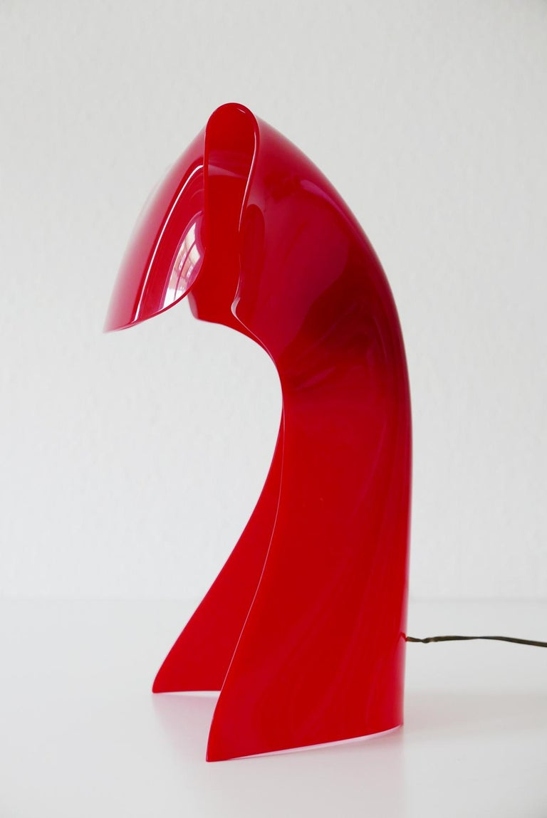 Exceptional Table Lamp by Hanns Hoffmann-Lederer for Heinz Hecht, 1950s, Germany For Sale 2