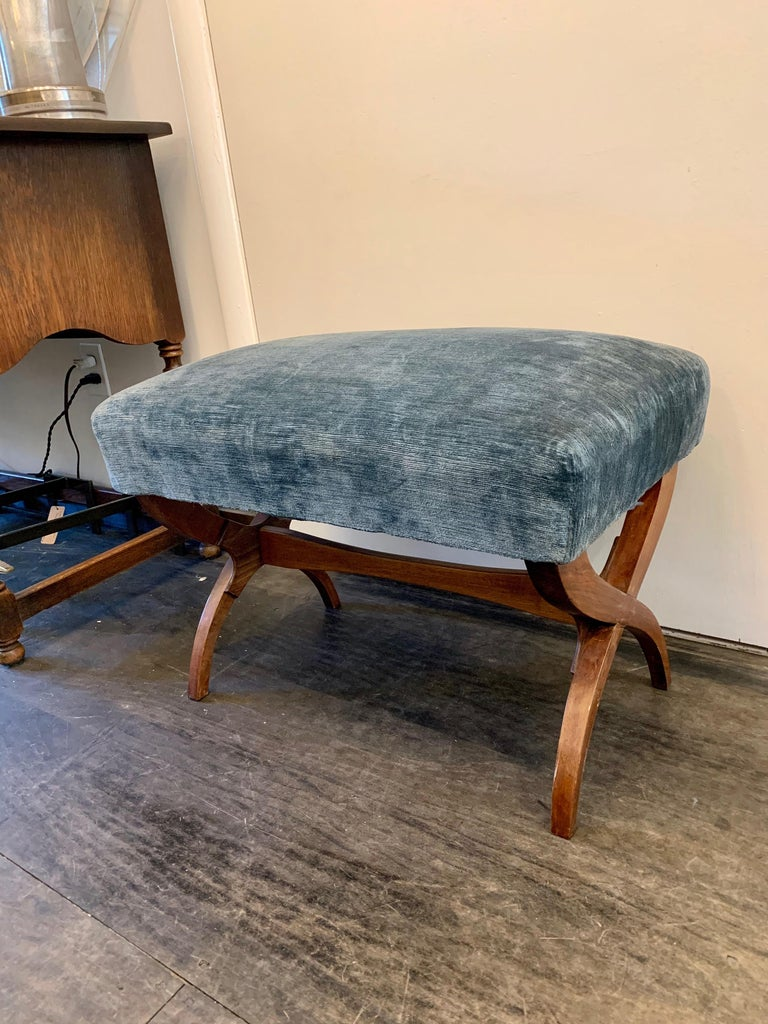 Exceptional Tomaso Buzzi Mahogany Bench For Sale 2