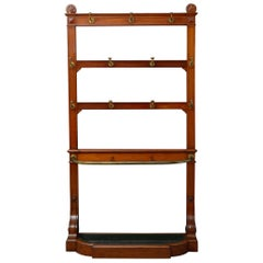 Exceptional Victorian Mahogany Hall Stand