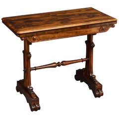 Exceptional William IV Rosewood Card Table