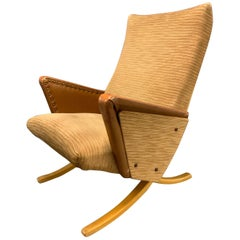 Exceptionally Rare, Possibly Unique Lounge chair by Arnold Bode