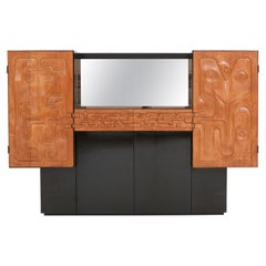Exclusive Bar Cabinet by Paul Ghekiere, 1982