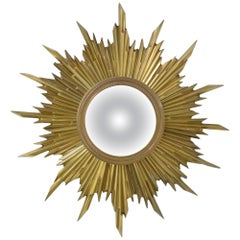 Exclusive Bronze Sunburst Mirror