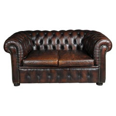 Exclusive Chesterfield Couch / Sofa, Brown