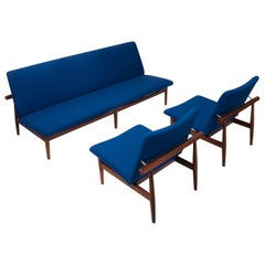 Exclusive Danish Vintage Finn Juhl Lounge Set, Japan Series, 1960s