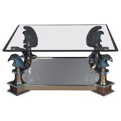 Exclusive Designer Coffee Table Glass / Acrylic Maison Charles