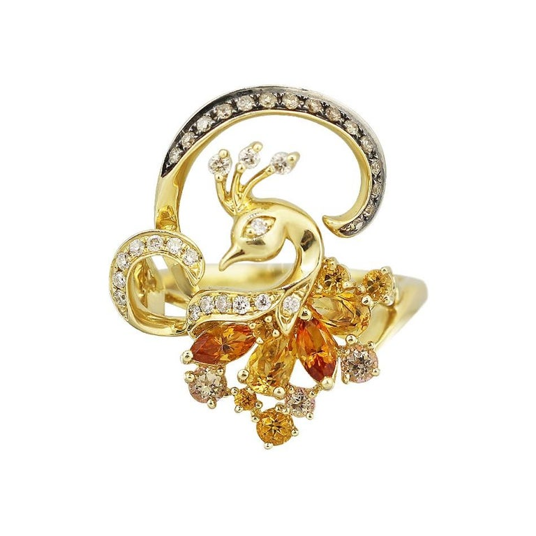 White Gold 14K Ring (Matching Earrings Available) Weight 5.15 gram Size 18 Diamond   17-Round57-0,12-4/6A Diamond 15-Round 57-0,1-7/7A Citrine 2-0,22 3/1A Citrine 2-0,33 1/1A Citrine 5-Round-0,15 1/1A Yellow Topaz 3-Round  With a heritage of ancient