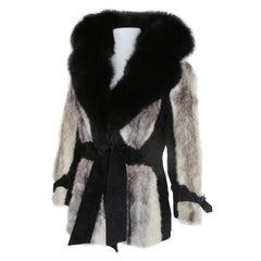 Exclusive Kohinoor Cross Mink Fur Coat
