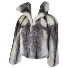 Exclusive Kohinoor Cross Mink Fur Jacket/Bolero