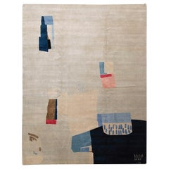 Exclusive Limited Edition Artistic Rug by Contemporary American Artist Anna Mac