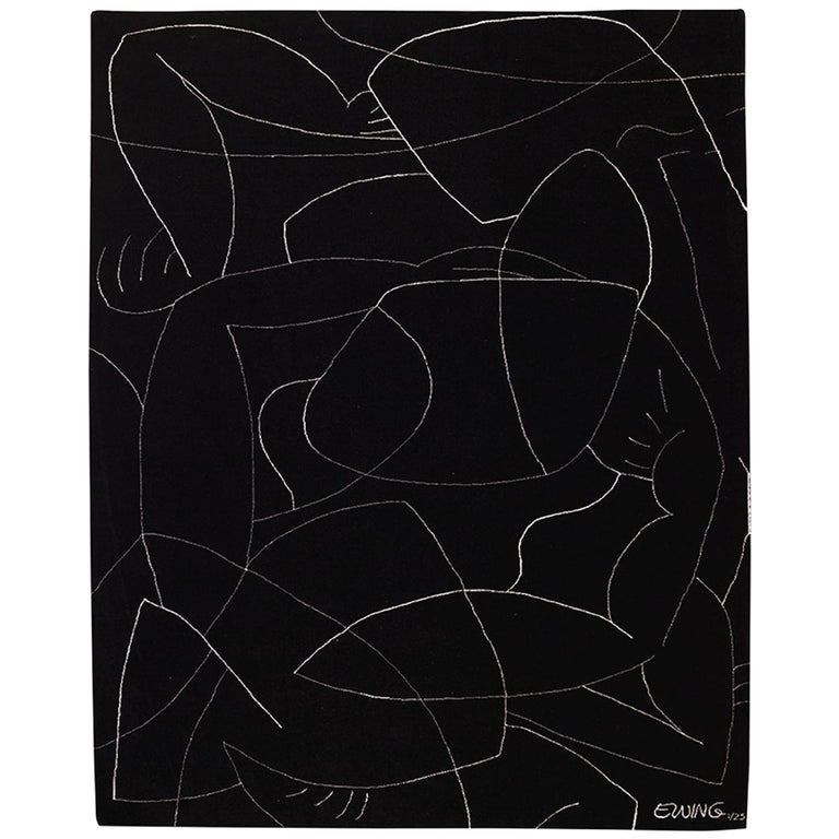 Exclusive Limited Edition Artistic Rug Signed by Benjamin Ewing For Sale