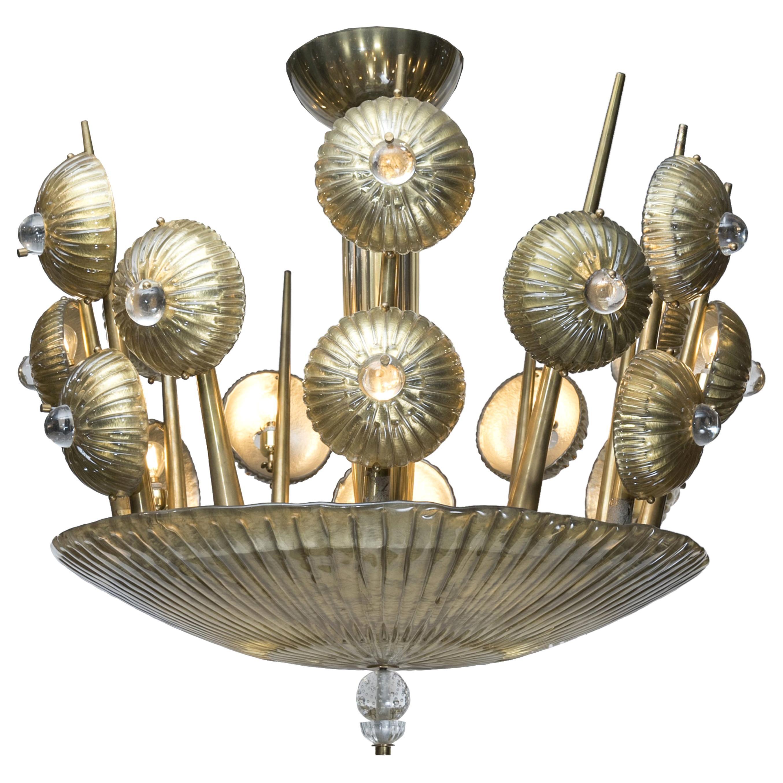 Exclusive Murano Glass Vintage Chandelier