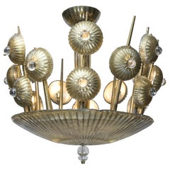 Exclusive Murano Glass Vintage Chandelier