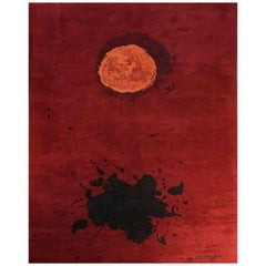 "Exclusive Wool rug after Adolph Gottlieb, ""Burst"""