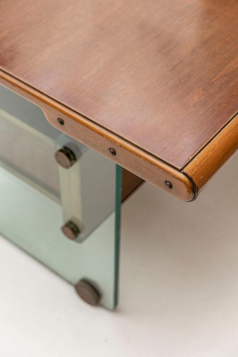 Late 20th Century Executive Desk Attributed to Fabio Lenci for Comfort Line