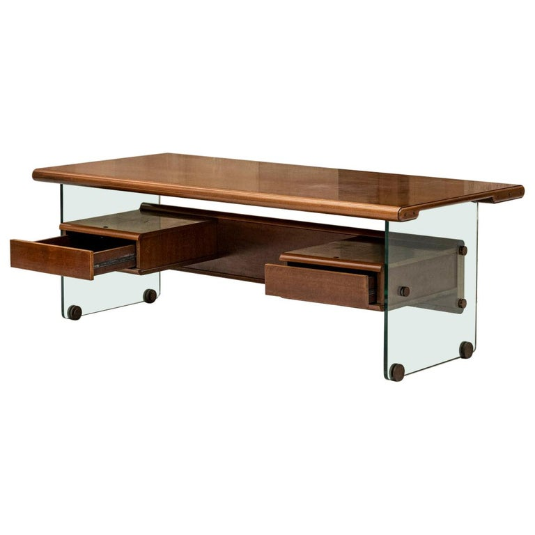 Executive Desk Attributed to Fabio Lenci for Comfort Line