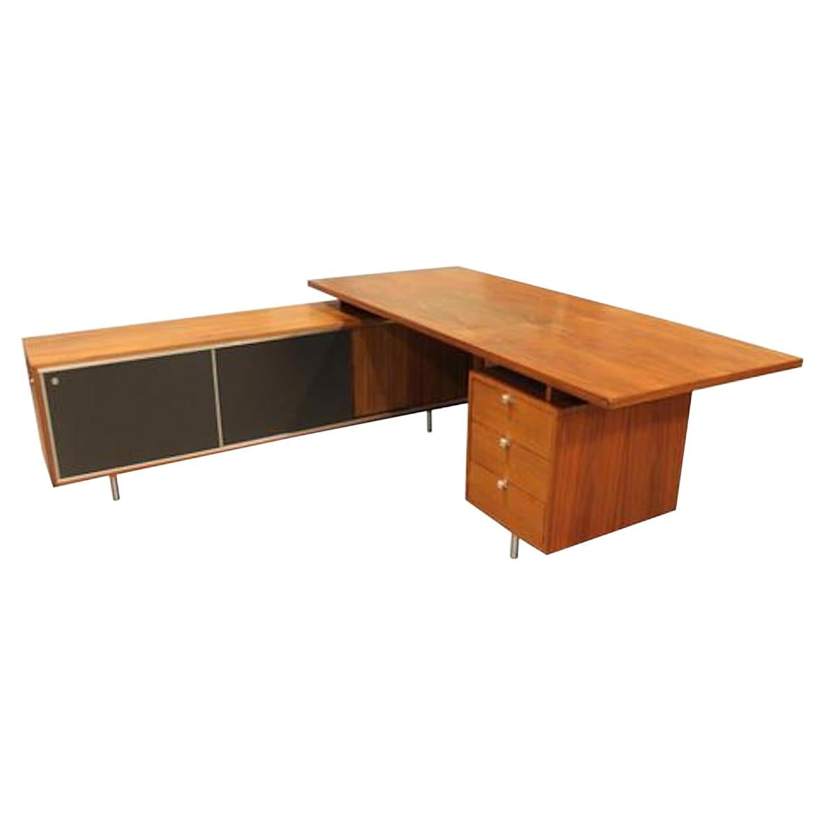 Executive Desk by George Nelson for Herman Miller, USA, 1960s