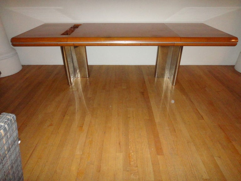 Late 20th Century Executive Desk by Hans von Klier for Skipper Italian, circa 1970 For Sale
