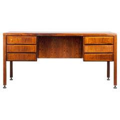 Executive Desk by Omann Jun, Mid-20th Century Design Rosewood