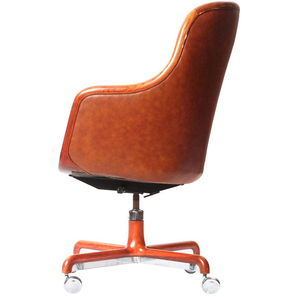 Executive Highback Desk Chair by Ward Bennett
