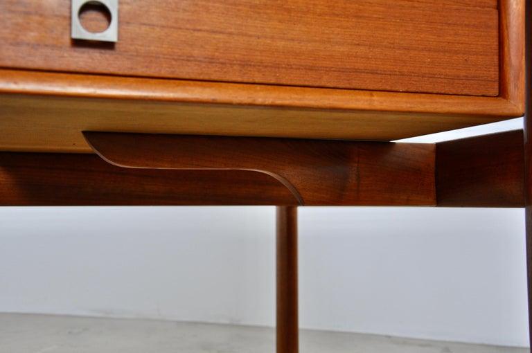 Executive Teak Desk by Arne Vodder for Sibast, 1965 For Sale 2