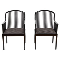 Exeter Spindle Armchairs 'Set of 8'