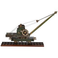 Exhibition Model of a Railway Steam Crane