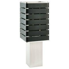 Exigen by Mnima, Table Light Sculpted from Solid Aluminum, Modern, Minimal