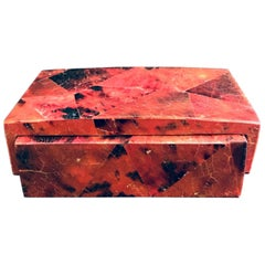Exotic Desk Box in Mosaic Pen-Shell by R&Y Augousti