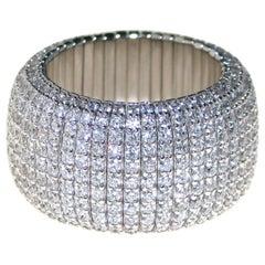 Expandable Diamond Band Ring