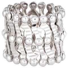 Expandable Ring to Bracelet 14 Karat Gold Estate Jewelry Flexible Convertible