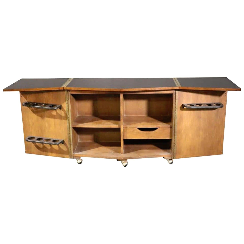 Expanding Bar Cabinet