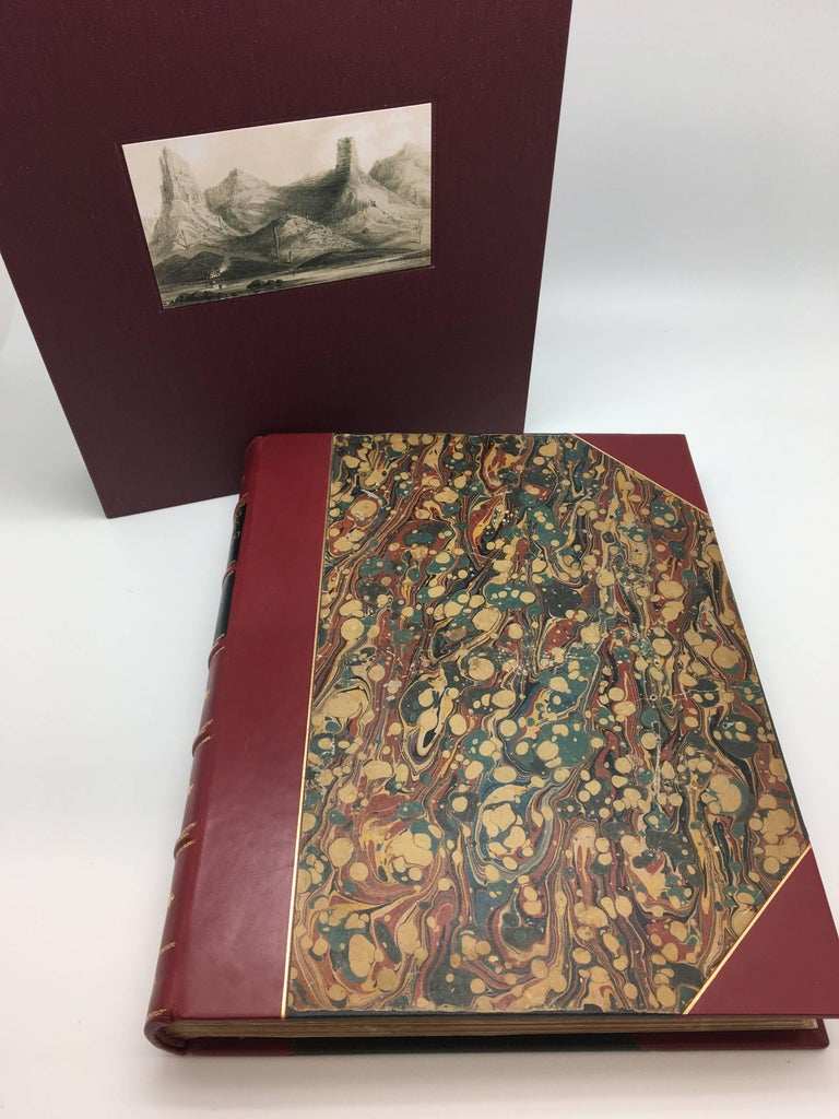 First edition of Lieutenant Joseph C. Ives important survey of the Colorado River region, with two large folding maps, eight large folding panoramic views, seven full-page chromolithographic portraits of Native Americans, 15 full-page engravings and
