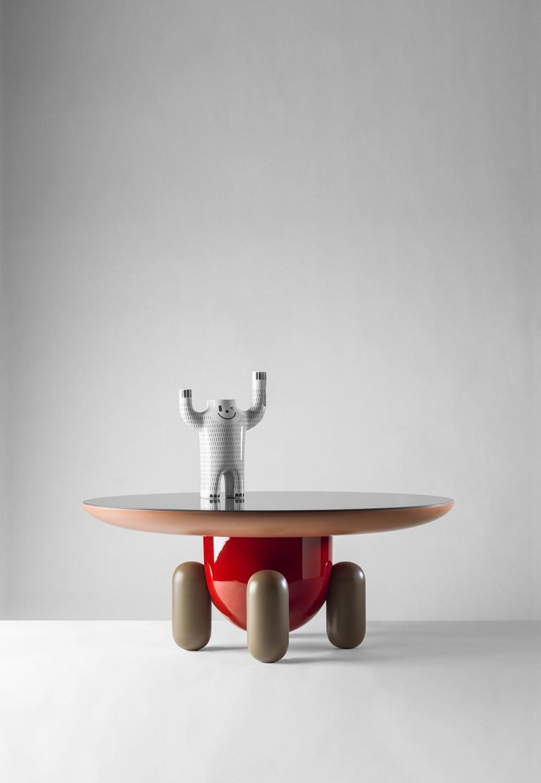 Spanish Explorer Table 3, Multi-Color Red For Sale
