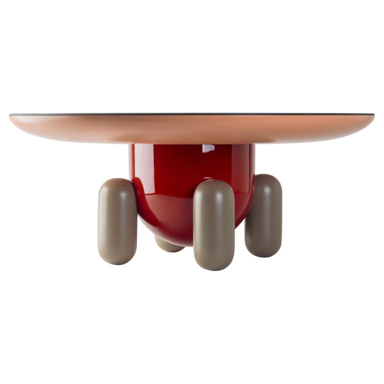 Explorer Table 3, Multi-Color Red For Sale