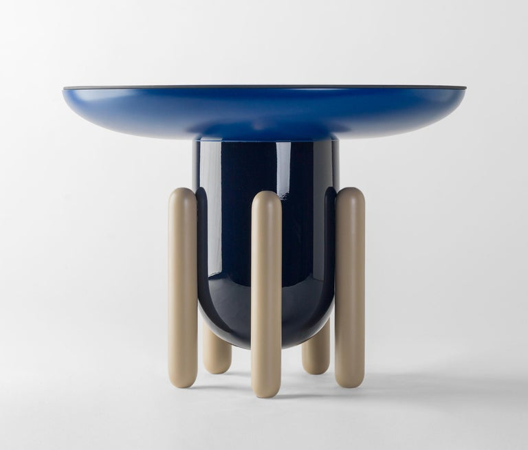 Explorer table Model 60 designed by Jaime Hayon for BD Barcelona creates an elegant beauty where it is placed. Spanish artist-designer Jaime Hayon is one of the most acclaimed creators worldwide. Hayon's esteem and knowledge of artisan skills and