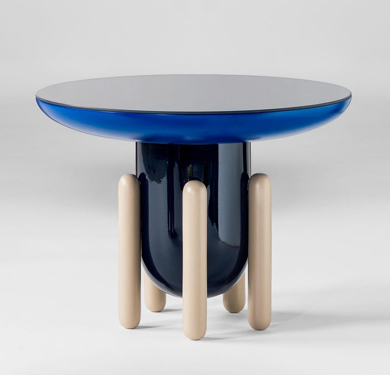 Lacquered Explorer Table Model 60 by Jaime Hayon for BD Barcelona For Sale