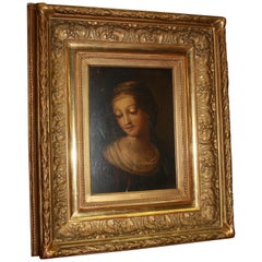 Exquisite 18th Century French Oil on Canvas