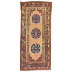 Exquisite 19th Century Antique East Turkestan Khotan Rug