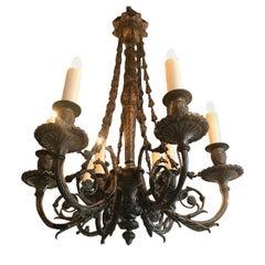 Exquisite Bronze Chandelier