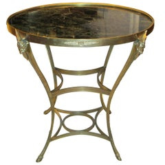 Exquisite Bronze Gueridon Table