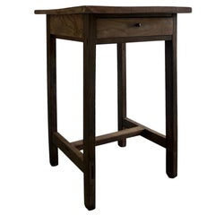 Exquisite Brown, Tongue and Groove Wooden Top Table